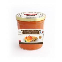 Abricot façon crumble au miel 375g