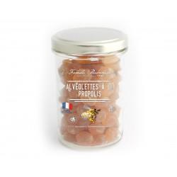 Alvéolites à la propolis bocal 150g