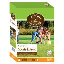 Gazon sports jeux Saisons & Jardins 1kg