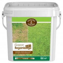 Gazon regarnissage 2 en 1 Saisons & Jardins - 3kg