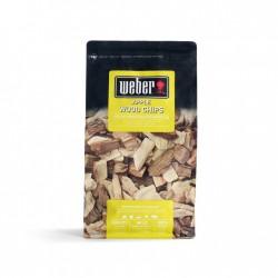 Boite de bois de fumage pomme