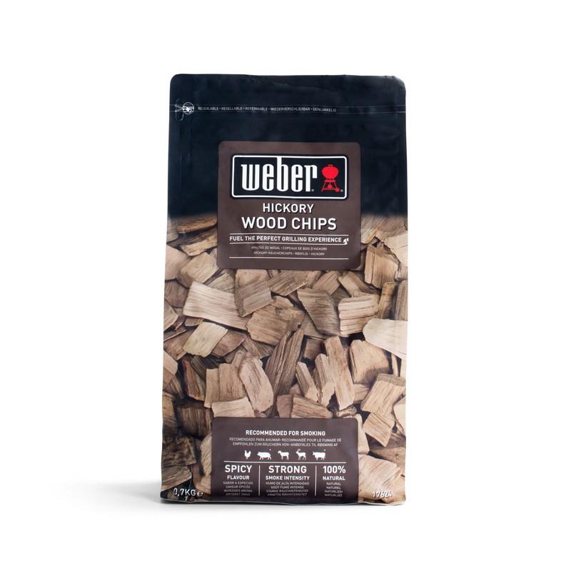 Boite de bois de fumage hickory