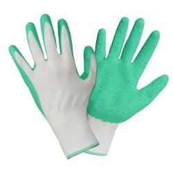 12 paires de gants de jardinage et bricolage latex petits travaux sur cross-ROSTAING-Taille 09