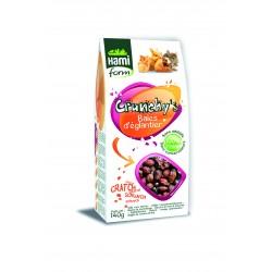 Crunchy's baies d'eglantier rongeur hamiform 140g