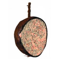 Demi noix de coco à la...