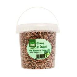 Melange graines mesange&rouge gorge hamiform seau800g