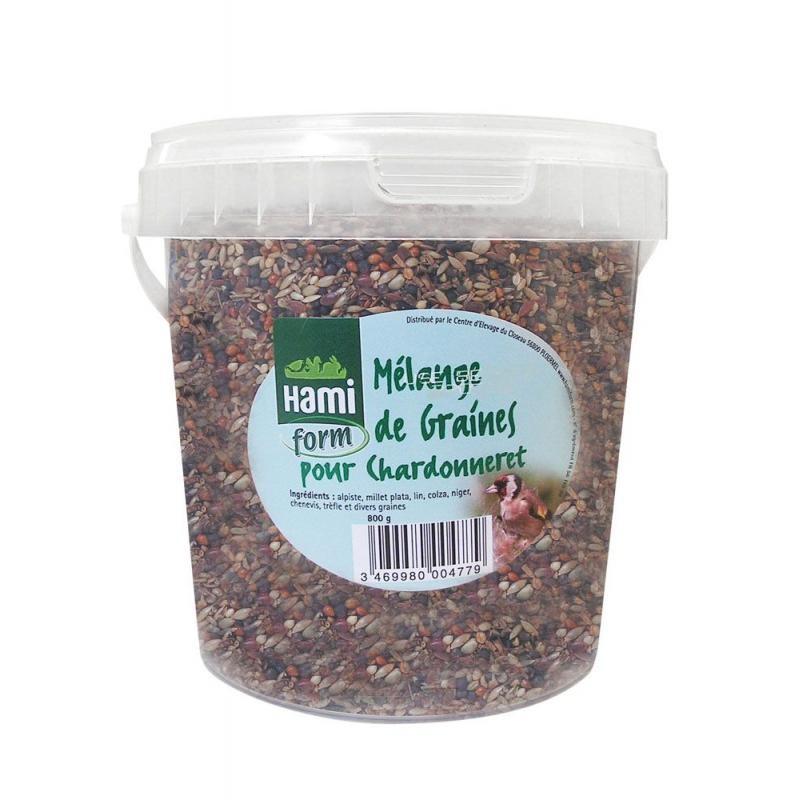Melange graines chardonneret hamiform seau800g