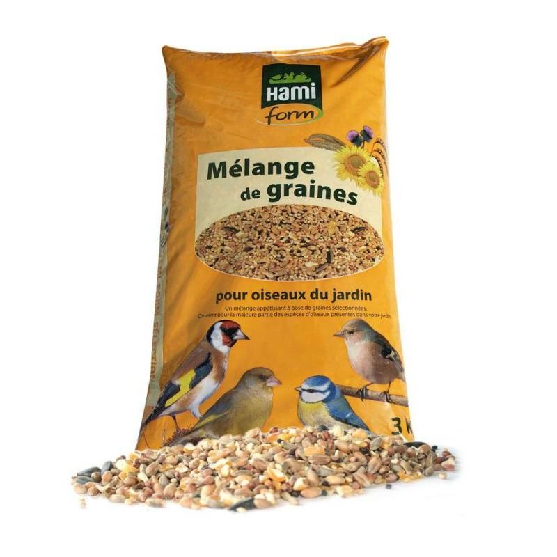 Melange graines oiseaux jardin hamiform 3kg