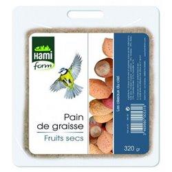 Pain graisse fruits secs hamiform 320g