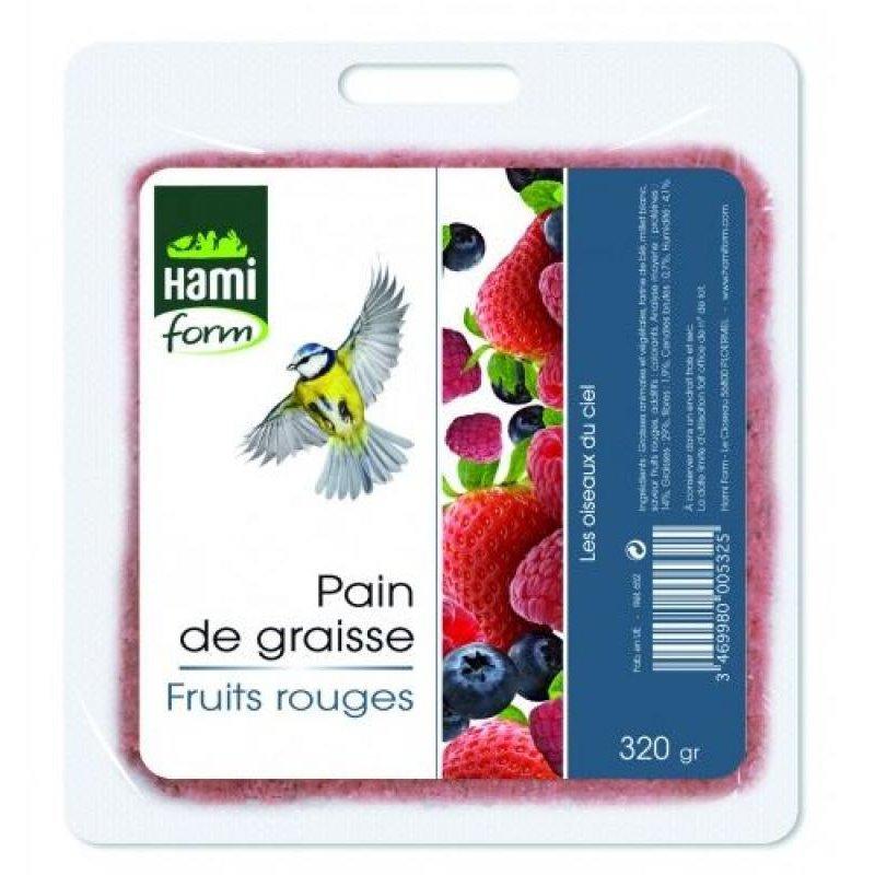 Pain graisse fruits rouge hamiform 320g