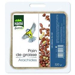 Pain graisse cacahuetes hamiform 320g