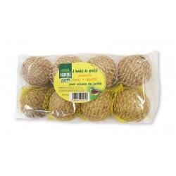 Boules graisse decouverte baie+insectes hamiform 8x90g