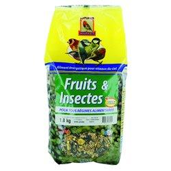 Melange graines fruits et insectes 1.8kg