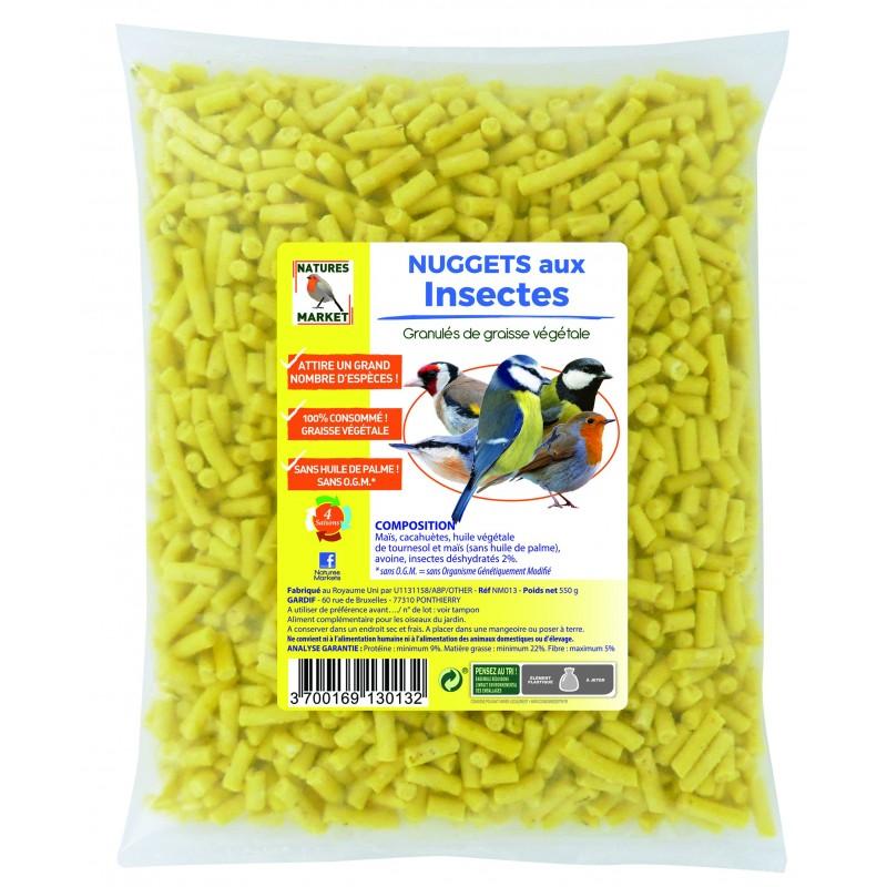 Nuggets aux insectes