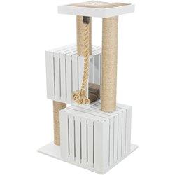 Arbre à chat Skadi Be Nordic 114cm blanc