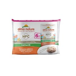 Hfc megapack filet de poulet 6x55g almo nature