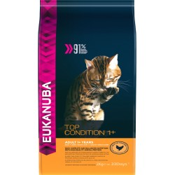 Adulte top condition 1+ poulet 2kg eukanuba