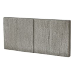 Bordure pressée schiste 49x3.5-h22 pierre anthracite