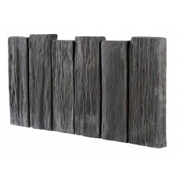 Bordurette schiste 50x25.5-h2.5 pierre ardoise