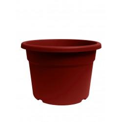 Pot florio 40x40-h27.5 rouge