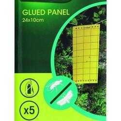Piège chromo glued panel x5...