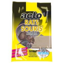 Rats souris pièges à glu...