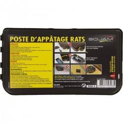 Poste d'appâtage rats X1...