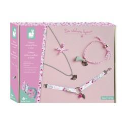 3 bijoux rubans a fleurs a...